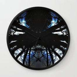 Treeflection VI Wall Clock