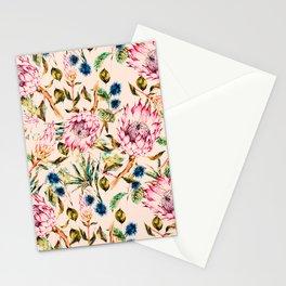 Pattern boho floral Stationery Cards