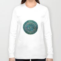 tree rings Long Sleeve T-shirts featuring Annual Rings by Klara Acel