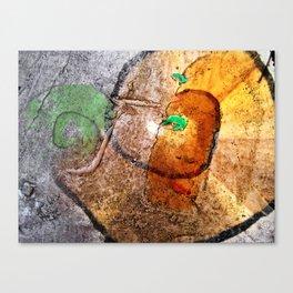 snegel Canvas Print
