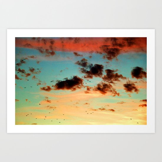 It was a beautiful day - photography  Art Print