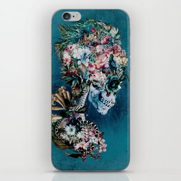 Floral Skull RP iPhone Skin