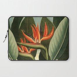 Birds of Paradise : Temple of Flora Laptop Sleeve