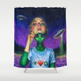 Undercover Shower Curtain