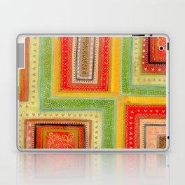 Autumnal tangle tracks Laptop & iPad Skin