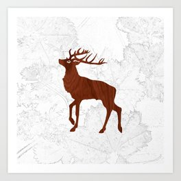 Les Bois Art Print