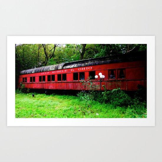Ohio Train  Art Print