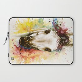 """""""Into the mirror"""" n°2 The horse Laptop Sleeve"""