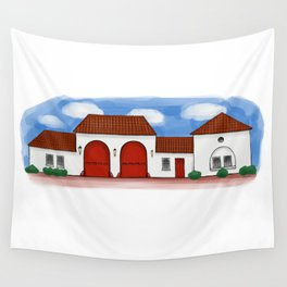 Concord Fire Department Wall Tapestry