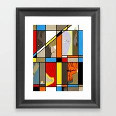 Fabtastic Four Framed Art Print