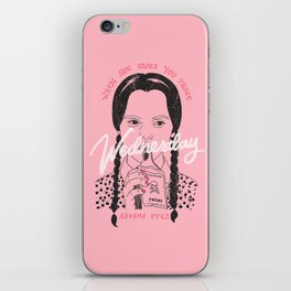 Wednesday Addams Eyes iPhone Skin