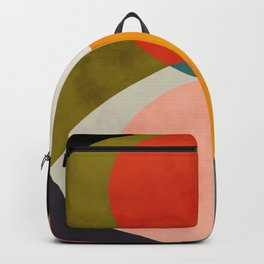 geometry shapes 3 Backpack