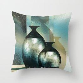 Still-life, Shimmering Reflections Throw Pillow