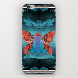 buddherfly #3 iPhone Skin