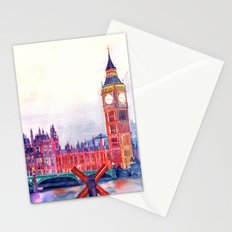 Sunset in London Stationery Cards