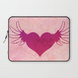 Winged Heart Laptop Sleeve