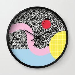 Memphis Series 01 Wall Clock