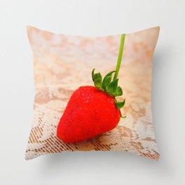 sweety strawberry! Throw Pillow