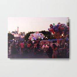 Los Angeles Disneyland Metal Print