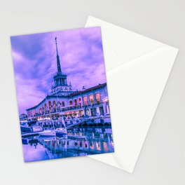 Marine station of Sochi Stationery Cards