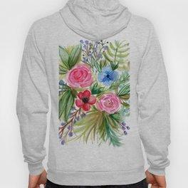 Watercolor Floral Bouquet No. 1 Hoody