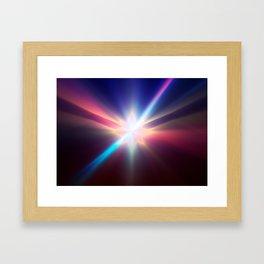 Impulse power Framed Art Print