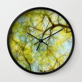 Willow Canopy Wall Clock
