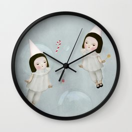 space candy Wall Clock