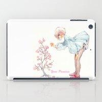 yaoi iPad Cases featuring Yaoi Princess Sakura by SpaceMonolith
