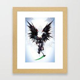 Death Robot Framed Art Print