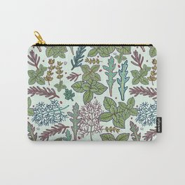 herbs pattern Carry-All Pouch