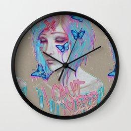 I Can't Sleep Wall Clock