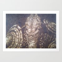 starcraft Art Prints featuring En Taro Zeratul by artbyolev