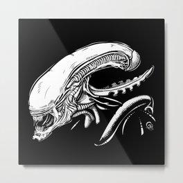 Alien: Xenomorph Metal Print