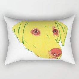Yellow Labrador Rectangular Pillow
