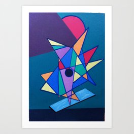 pattern art Art Print