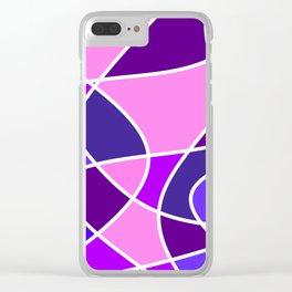 Color Flow Clear iPhone Case