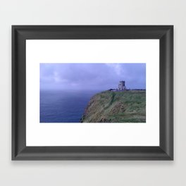 Fortress by the Sea Framed Art Print