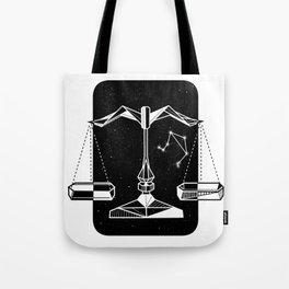 Libra Star Sign Zodiac Tote Bag