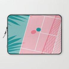 Jock - tennis sport retro neon throwback palm springs los angeles hollywood california sunny pop art Laptop Sleeve