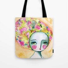 The Muse Of Summer Tote Bag