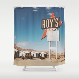 Roy's Motel Shower Curtain