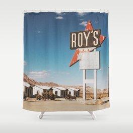 Roy's Motel Shower Curtain