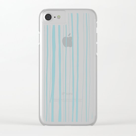 Vertical Living Salt Water Clear iPhone Case