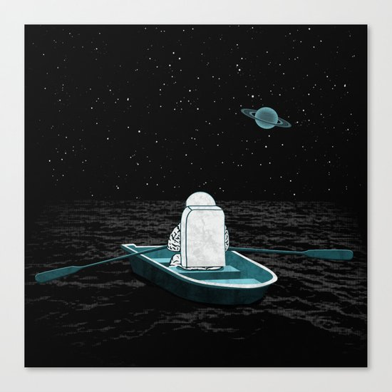 A Space Odyssey Canvas Print