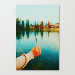 Lake Days Canvas Print