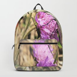 white butterfly Backpack