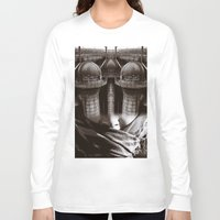 industrial Long Sleeve T-shirts featuring Industrial by Cash Mattock