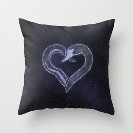 Captain Swan - Hook & Swan Throw Pillow