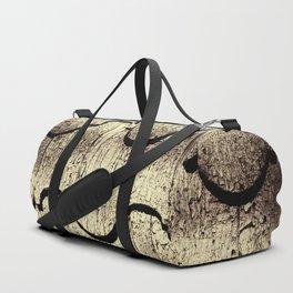 Cracked Paint on Shingles. Duffle Bag